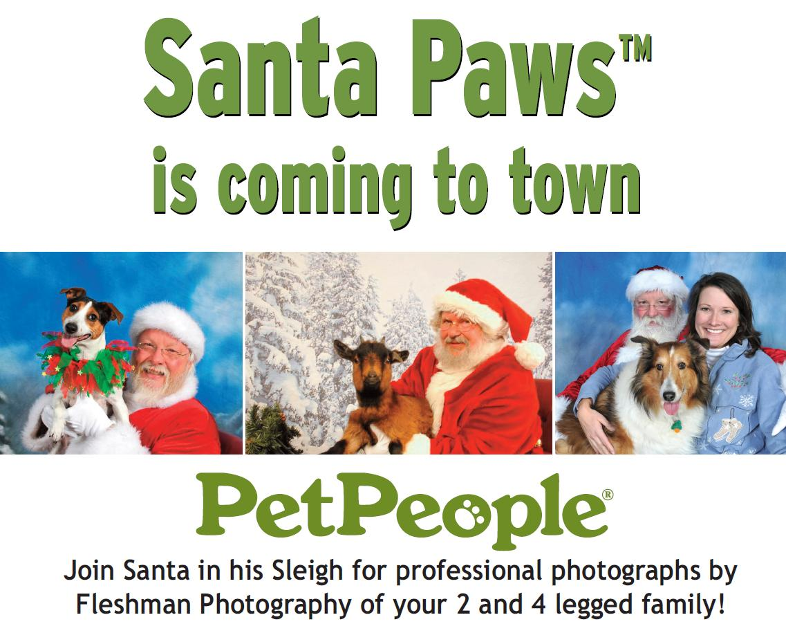 Pet People with Santa