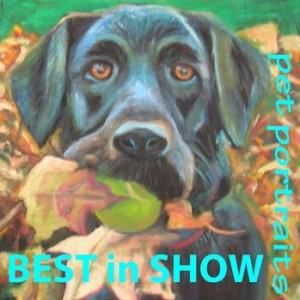 BEST IN SHOW Pet Portraits by artist Karen Seltzer