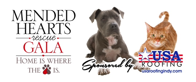 5th Annual Mended Hearts Rescue Gala Dog Friendly Indy